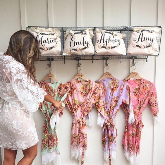 brides maid robes