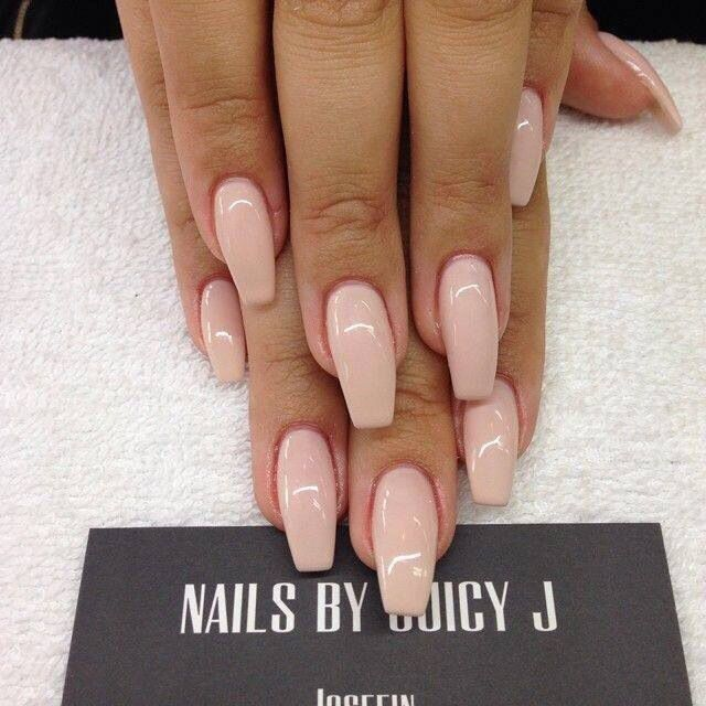 Coffin Shaped Ballerina Nails- Spa Review - LA Beauty Guide