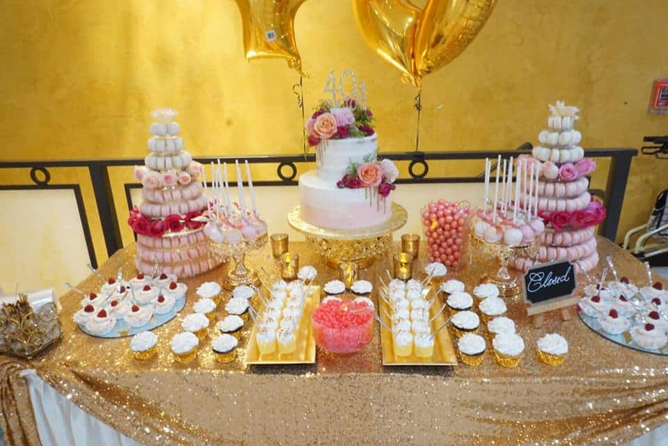 40 and Fabulous Dessert Table