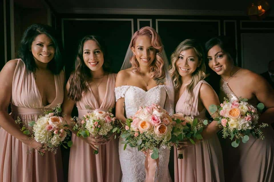 Los Angeles Brides Makeup and Hair styling