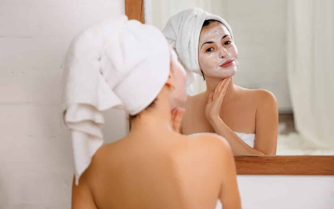 Audrey's Fall skincare routine.
